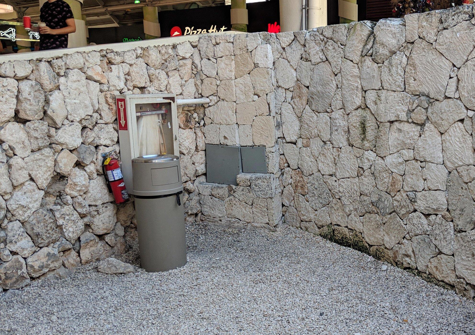 Smoking at Punta Cana International Airport (PUJ)