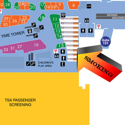Lax airport terminal layout image collections diagram for Short term parking at lax