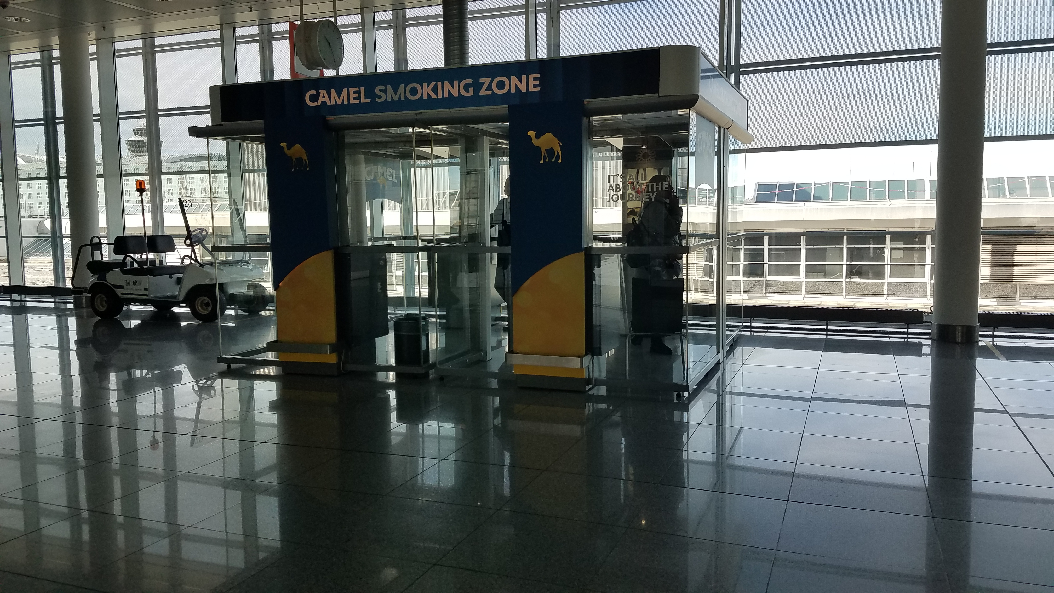 Smoking at Munich Airport (MUC)