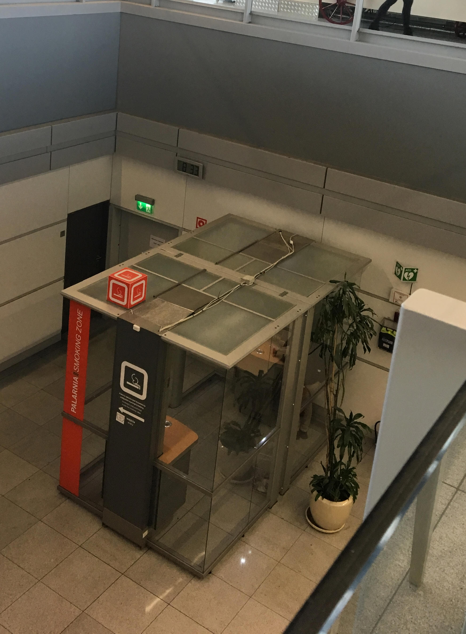 Smoking at Warsaw Chopin Airport (WAW)