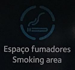 Smoking at Lisbon Portela Airport (LIS)
